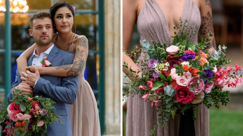 Georgeus Bridal Bouquet